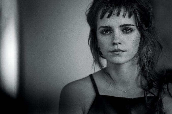 Emma Watson Vogue zelf-partnerschap